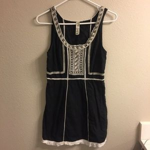 Embroidered Mini Free People Dress
